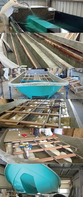 Construction of Mowdy Flats Boats